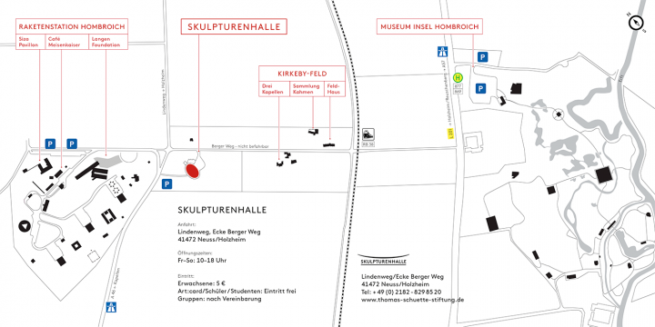 Lageplan - Skulpturenhalle Neuss